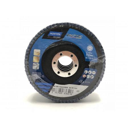 Disque de meulage à lamelles Technic Ø115 GR40