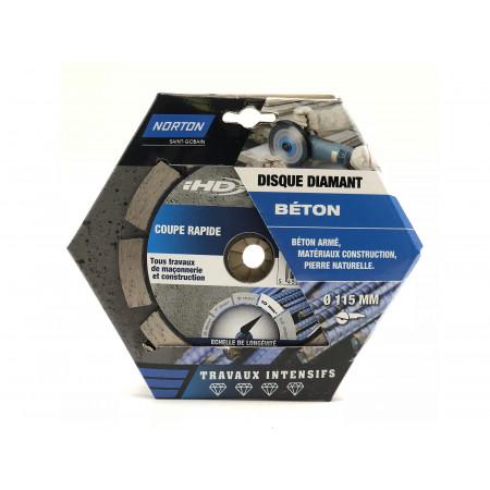 Disque diamant béton armé IHD Ø115x10