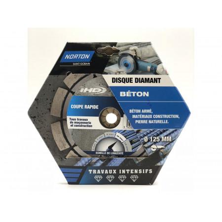 Disque diamant béton armé IHD Ø125x10