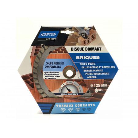 Disque diamant brique Ø125