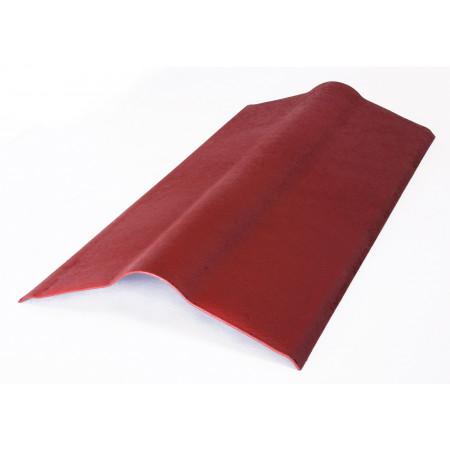Faîtière Easyline Onduline rouge intense 1m