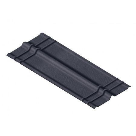 Faîtière standard noir 1m