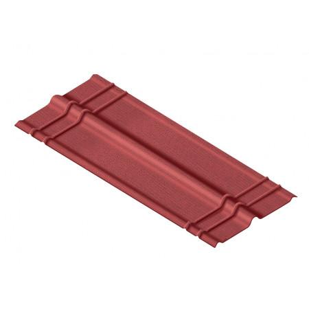 Faîtière standard rouge 1m