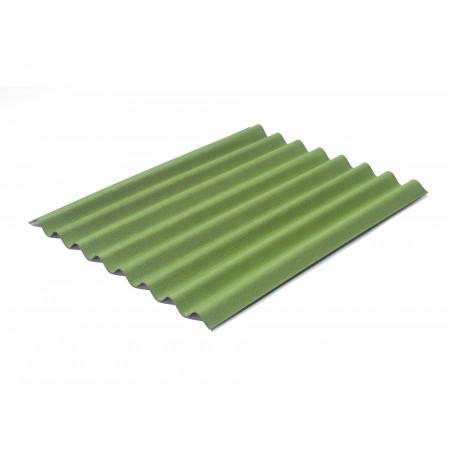 Plaque ondulée Easyline vert intense 100x76cm