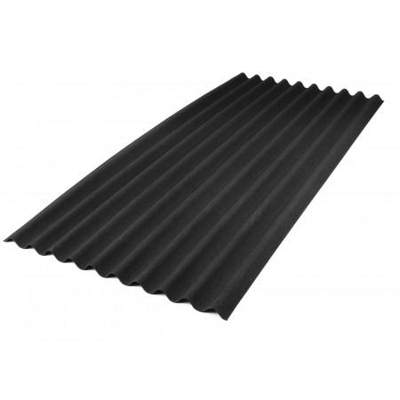 Plaque ondulée ONDULINE® 9S noir 200x86cm