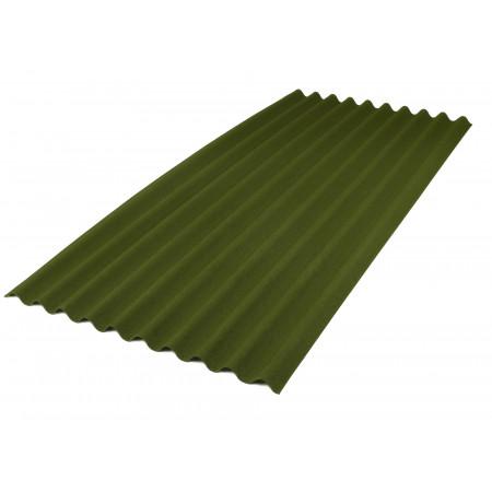 Plaque ondulée ONDULINE® 9S vert 200x86cm