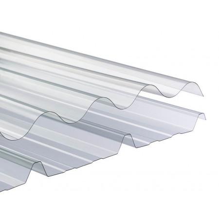 Plaque polycarbonate ondulé GO 10/10ème 152x92cm