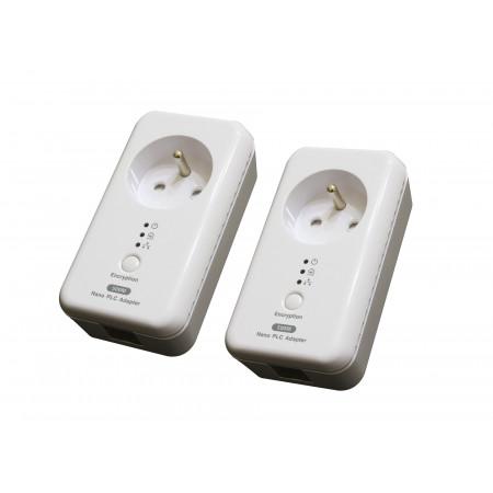 2 Prises CPL 500MBPS plug