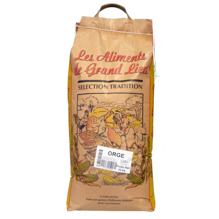 Orge Les Aliments de Grand Lieu 10kg