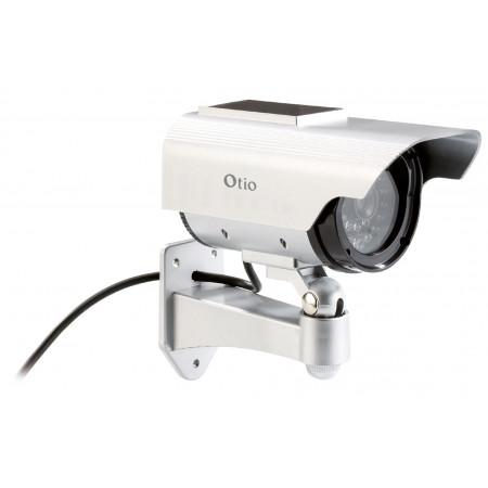 Caméra de vidéo surveillance solaire factice