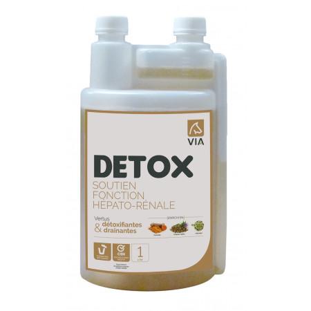 Soutien fonction hépatorénale Détox VIA 1L