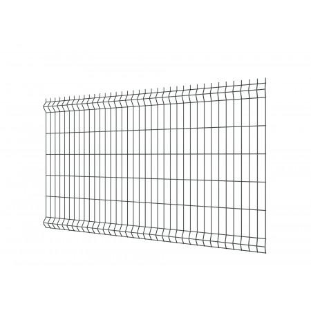 Panneau de clôture rigide EcoPlus gris 120x200