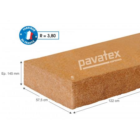 Panneau isolant fibre de bois PAVAFLEX CONFORT 122 x 57,5 R=3,80