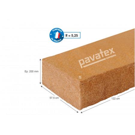 Panneau isolant fibre de bois PAVAFLEX CONFORT 122 x 57,5 R=5,25