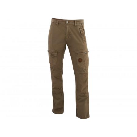 Pantalon Stretch Multipoches Explore Taupe