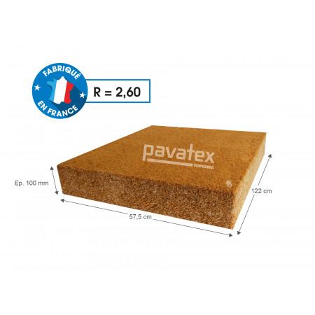 Paquet de 4 panneaux isolants ép. 100 mm Pavafl ex® Confort