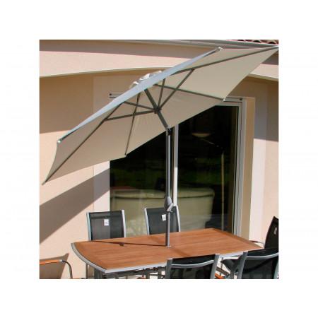 Parasol Marbella D.2,7m Blanc