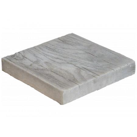 Pavé 20x20x3cm aspect bois blanchi