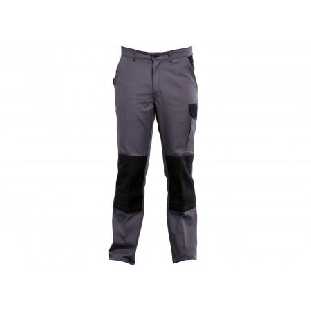 Pantalon de travail Typhon avec cordura Gris/noir