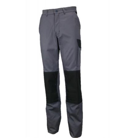 Pantalon de travail Typhon light Gris/noir