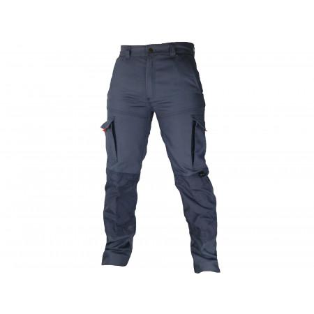 Pantalon de travail Typhon+ polycoton Gris/noir
