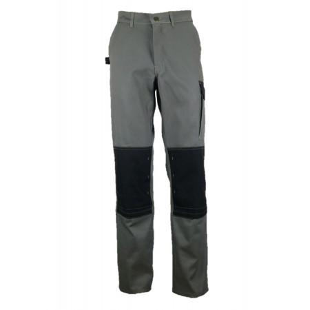 Pantalon de travail Typhon polycoton Olive/noir