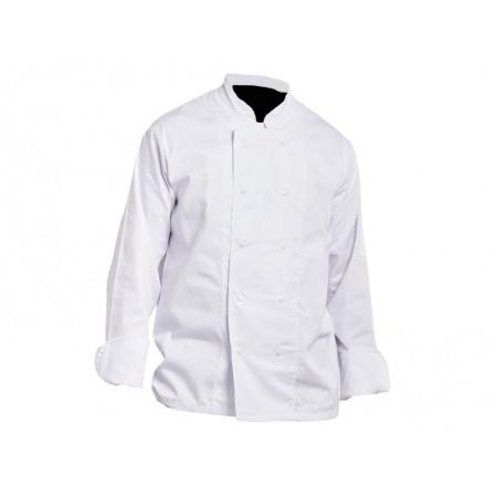 Veste de cuisine manches longues Blanc