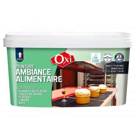 Peinture cuisine professionnelle OXI AMBIANCE ALIMENTAIRE