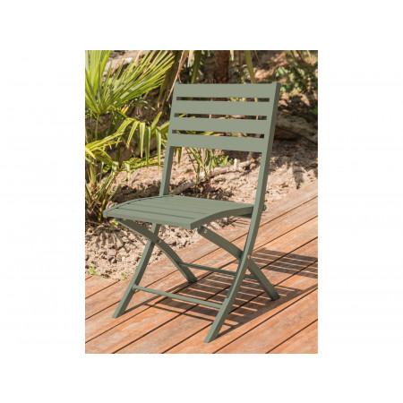Chaise de jardin pliante Marius Kaki