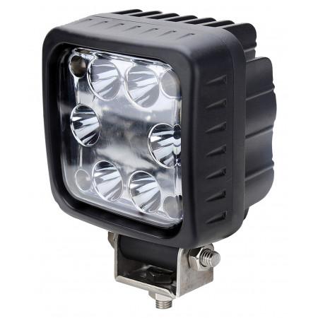Phare 6 LEDS 3000lm éclairage longue portée