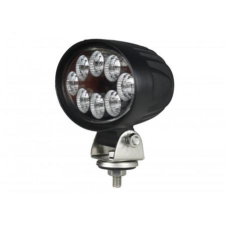 Phare 8 LEDS 1600lm éclairage large