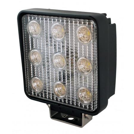 Phare 9 LEDS 1450lm éclairage longue portée