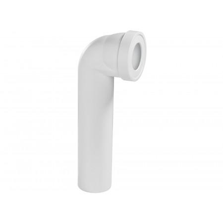 pipe longue wc 90 blanche rwc1040