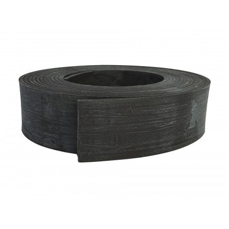 Bordure de jardin PE recyclé rouleau H.15cm x L.10m noir