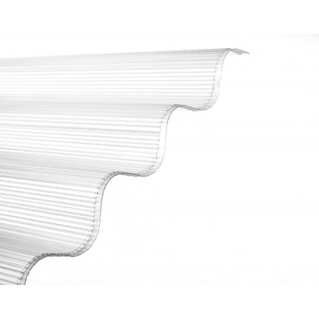Plaque ondulée GO alvéolaire 305x92cm