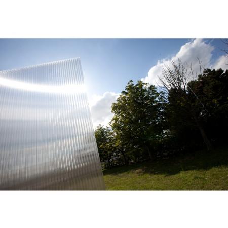 Plaque polycarbonate clair 400x125cm 32mm
