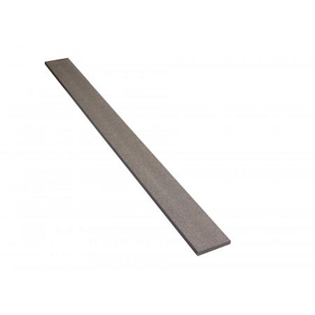 Plinthe réversible gris pierre 12x90x2000mm