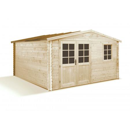 Abri de jardin bois Shelty Plus 10,70m²