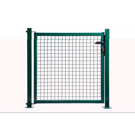 Portillon Classic grillagé vert 1x1,7m