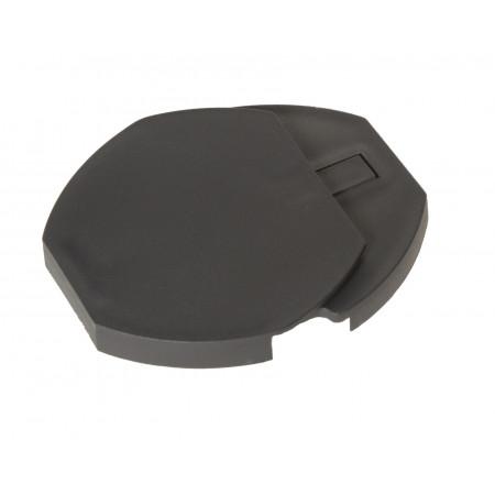 Chapeau réglable pour poteau Coquille