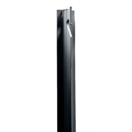 Poteau T plastifié gris 1,50m