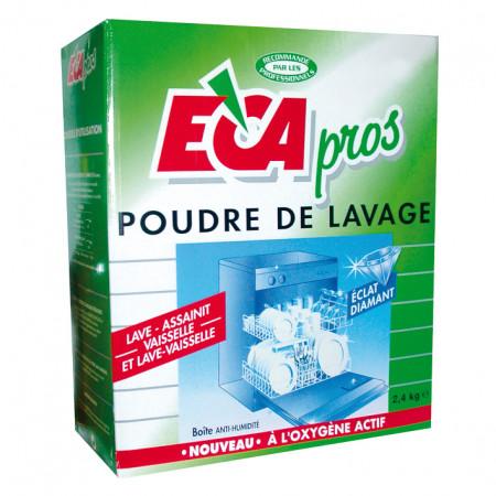 Poudre lave-vaisselle baril 2,4kg ECA PROS
