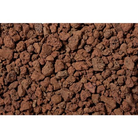 Pouzzolane décorative rouge 30L