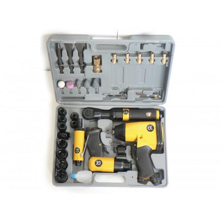 Coffret 4 outils pneumatiques