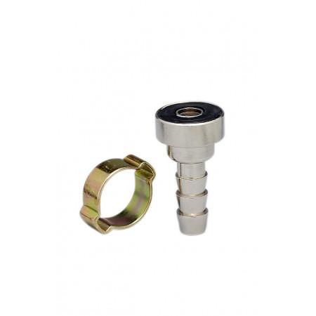 Adaptateur écrou baïonnette pour tuyau Ø 6 mm X2