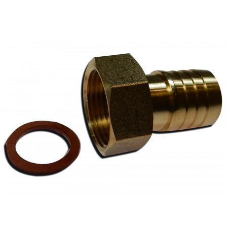 Raccord laiton F pour tuyau rigide de 20 en 20-27