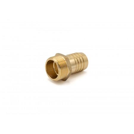 Raccord laiton mâle pour tuyau rigide de 26 en 26/34