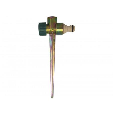 Pique métal pour asperseur avec adaptateur