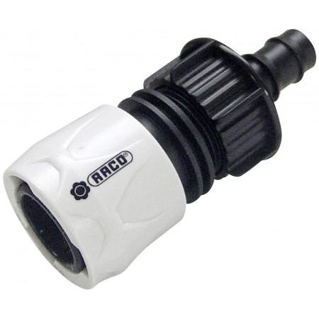 Raccord cannelé automatique pour tuyau Ø16
