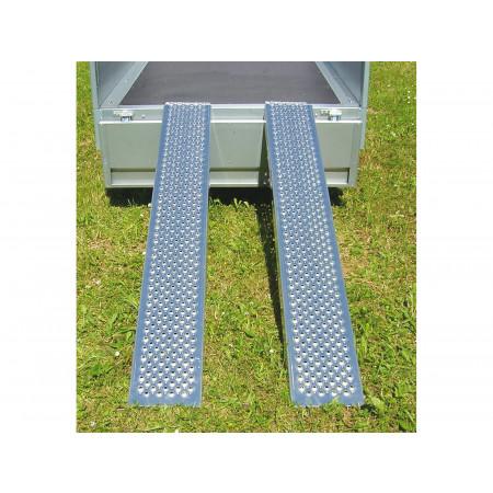 Rampes alu 2,50m 1T x2